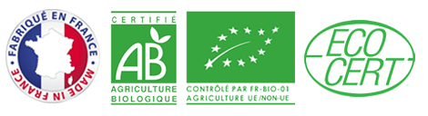 French Laboratories Approved by Ecocert and Certified by AB